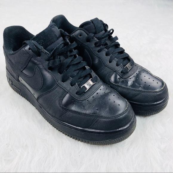 Force 1 Black Sz Air One Nike 5 8 Rj35Aq4L